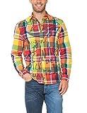 Desigual CAM_TROLE Camisa, Amarillo (Amarillo Freesia), M para Hombre