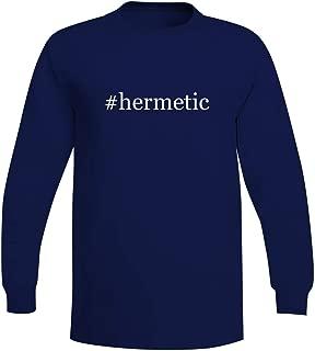 #Hermetic - A Soft & Comfortable Hashtag Men's Long Sleeve T-Shirt