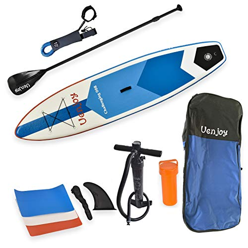 Uenjoy 11' Inflatable Stand Up Paddle Board (6...