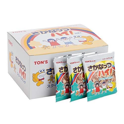 東洋ナッツ食品 TONS さかなっつハイ!スクールランチ 7g×30袋 [0201]