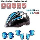 Set di casco protezione bambini, Scooter Di Pattinaggio A Rotelle Casco Da Skateboard Da C...
