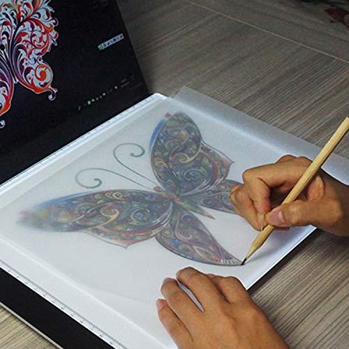 Tuzi Paulclub 3.5W 5V LED USB DREI Helligkeit dimmbar A4 Acryl-Skala kopieren Boards Anime Sketch Zeichnung Sketchpad QiuGe