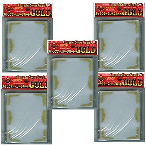 KMC Character Sleeve Guard 60 pcs  —5 Sets       Made in Japan by KMC
