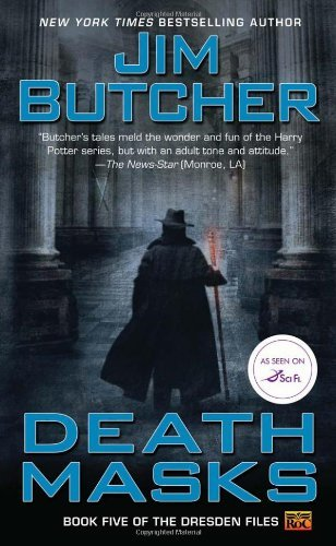 By Jim Butcher - Death Masks: Book Five of The Dresden Files (7.6.2003)