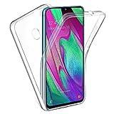 ANNART Coque pour Samsung Galaxy A40 5.9' SM-A405F, Coque Silicone Gel Ultra Mince 360° Protection...