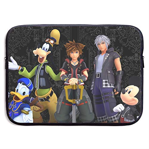 Mickey Mouse Laptop Sleeve Bag Tablet Fashion Briefcase Ultra Portable Protective Cover MacBook Air MacBook Pro Notebook Computer Sleeve Case 15 inch