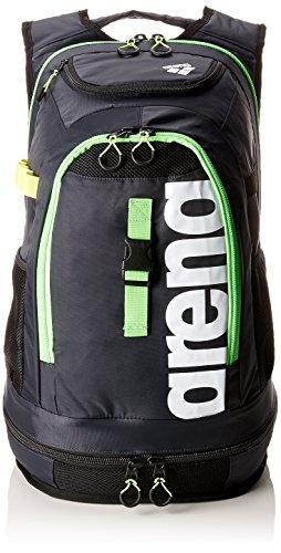 arena Unisex Profi Triathlon Rucksack Fastpack 2.1 für Schwimmer und Triathleten (11 Fächer, 40x35x55cm, 45L)