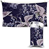 Gednix Chinese Delicate Crane Sports Travel Towel...