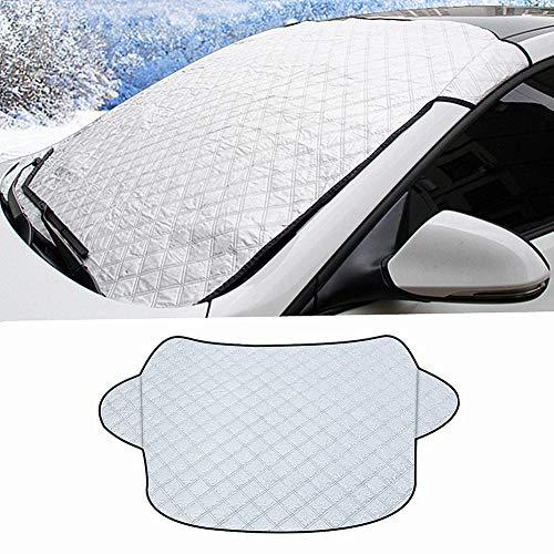 Racev Sonnenschutz Auto Frontscheibe Innen Auto Scheiben Sonnenschutz Auto-Sonnenschutz Auto-Sonnenschutz für Baby Auto-Fenster-Schatten 58inch,Thin