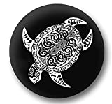 Jeep Spare Wheel Tire Cover [Wrangler Accessories] UV Resistant, Heavy Duty – Personalized with Sea Turtle – fits Grand Cherokee, Liberty, Renegade, SUV (32/33' (265/75R16), (285/70R17), (255/75R17))