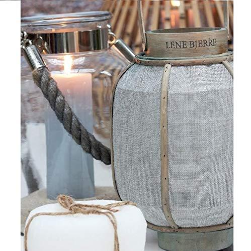 LENE Bjerre Belia STONEWARE Fioriera Arredamento Design 15 x 15cm uso interni esterni