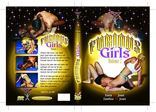 French topless mixed wrestling - Furious girls vol.2 (Female vs Male) DVD Amazon's Prod