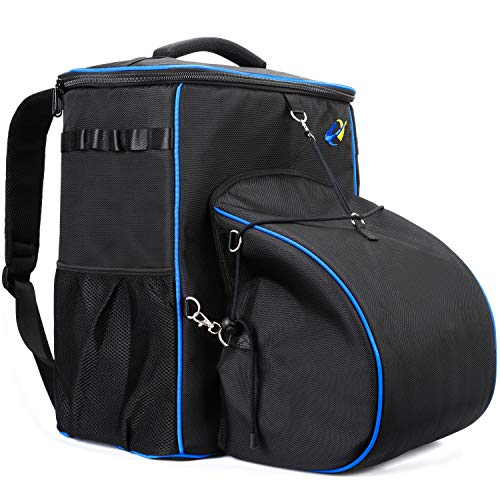S7 Technician Backpack,Waterproof Welder Bag, Large Capacity Work Pack Pro Ultimate Tool, Pack With Helmetcatch