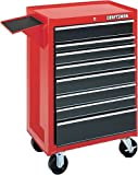 Craftsman 9-65913 Red 8 Drawer 26-Inch Roll Away With Folding Side Shelf