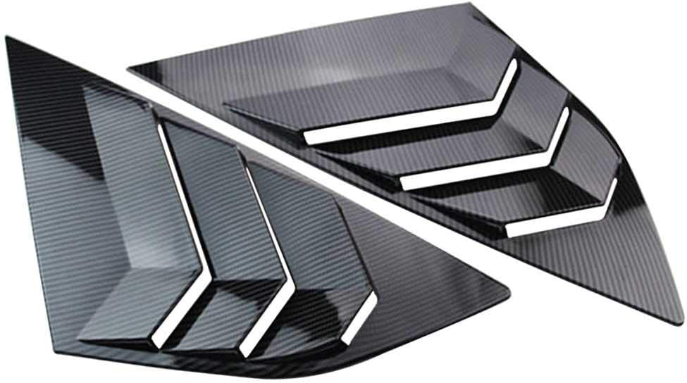 KenKER Car ! Super beauty product restock quality top! Side Window Louvers Ranking TOP2 Cover Civic Honda for 2016 Fit 20
