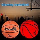 Accesorio para Deportes nocturnos Herramientas Resistentes y duraderas YSYANG Red de Baloncesto Luminosa Que se Adapta al aro de Baloncesto est/ándar para Interiores y Exteriores
