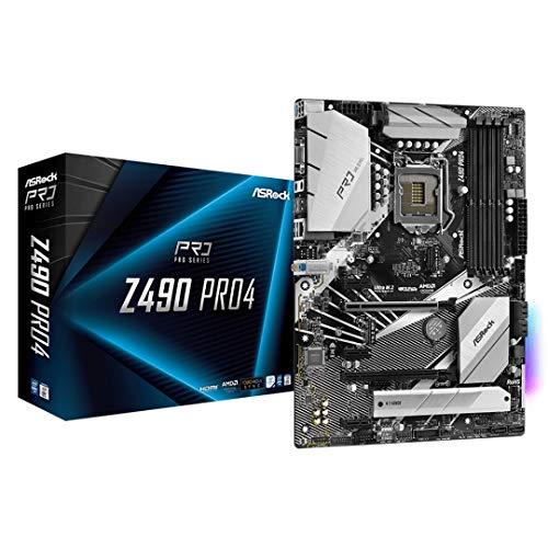 ASRock Z490 PRO4 Motherboard (Intel CoreTM Prozessoren Sockel 1200)