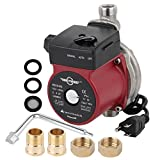 BOKYWOX 110V Food Grade Automatic Domestic Booster Pump NPT 3/4'' Circulate Boost Pressure