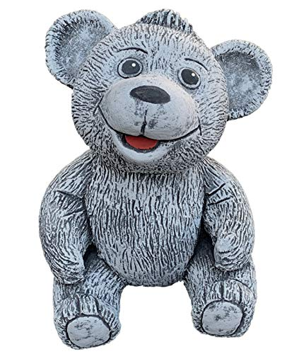 Pierre figurine ourson Bruno, fait à la main, résiste au gel, fabriqué en Allemagne