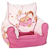 knorr-baby, Poltrona a sacco per bambini, Rosa (pink)