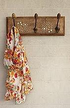 STORE INDYA Wall Hooks Key Holder Coat Clothes Hangers Home Decor (3 Hooks)