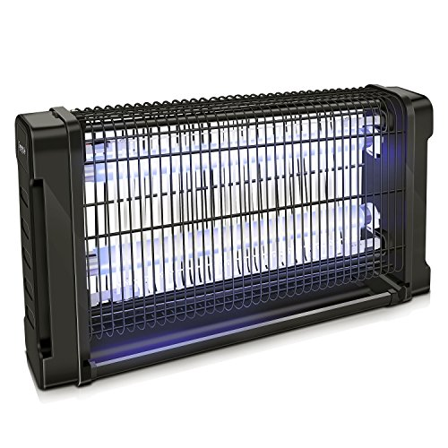 SereneLife AZPSLBZ14 – Trampa eléctrica antiinsectos para Interior y Exterior, con Cobertura de 29…
