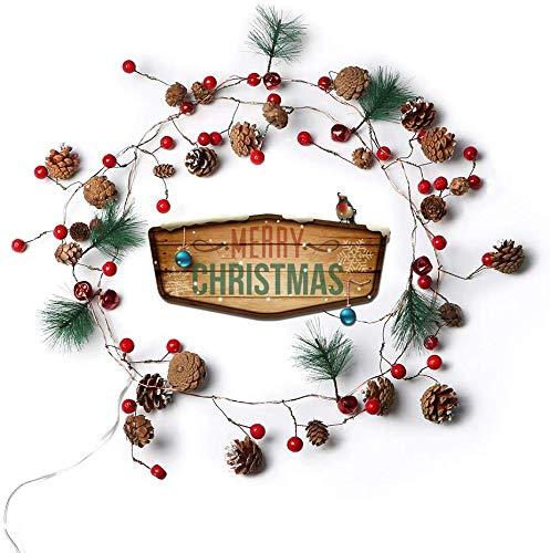 Lsmaa Lsmaa Hanglamp, voor aan de muur, warm wit, led-stip, indoor-snoer, voor terras, slaapkamer, woonkamer, decoratie, Kerstmis, feestdag, huwelijk en home lampen -