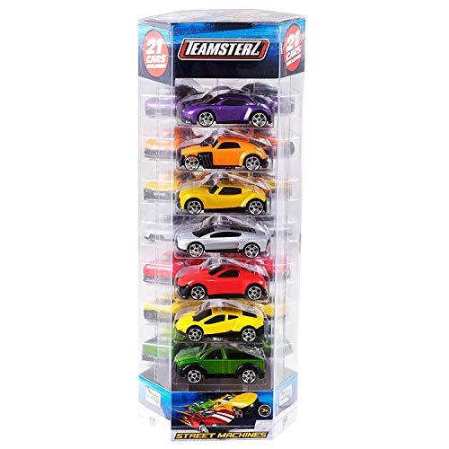Lot de 10 Teamsterz 1416213//Échelle 1 64/Street Machines de Voiture
