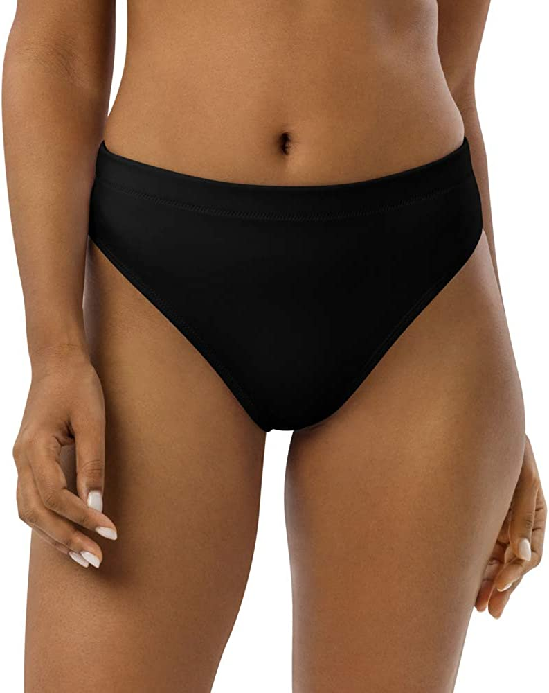 Recycled high-Waisted Bikini Bottom JunglePixie Black Free Our shop OFFers the best service Shipping New