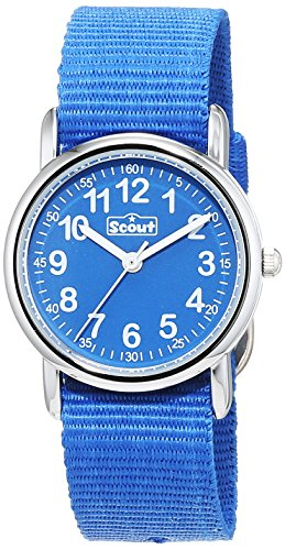 Scout Jungen-Armbanduhr Analog Quarz Textil 280304000