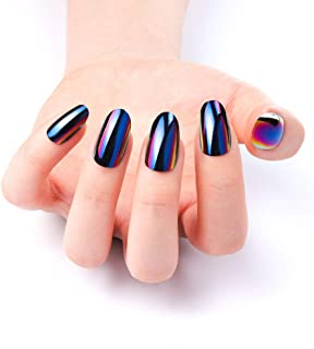 Best green and purple chrome nails Reviews