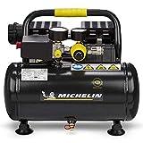 Michelin Druckluft Kompressor MX6 1 leise mobil tragbar ölfrei (Anschluss 230V, Max Druck 8 bar,...