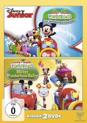 Micky Maus Wunderhaus - Mickys Wunderhaus-Ralley / Die Wunderhaus-Eisenbahn [2 DVDs]