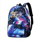 MichaelJMichaels Unisex Galaxy Backpack Splatoon Bookbag for School College Student Travel Business