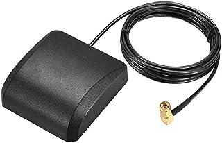 Antena activa GPS DyniLao compatible con Beidou GNSS SMA macho enchufe 90 grados 42dB cable conector aéreo con montaje mag...