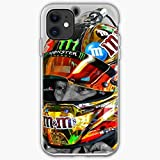 CHASEOKHWAN Gibbs Joe Nascar Kyle Drivers Helmet Motorsport Racing Busch MMS| Unique Design Snap Phone Case Cover for All iPhone