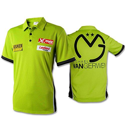 Shirt Michael van Gerwen mit Größenauswahl - Poloshirt - T-Shirt - Oberteil (M)