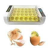 SY-Online Couveuse œufs Automatique Incubateur œufs Automatique 24 œufs Volaille Intelligent Numérique Appareil d'Incubation Eclosion de Poussin Couveuse