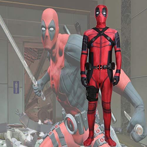 WOLJW Volwassen Kinderkostuum 3D Prin Spandex SpiderMan Kostuum Cosplay Jumpsuit Feestjurk Lycra Panty Fancy Kostuum Props