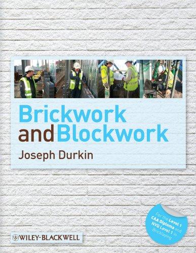 Durkin, J: Brickwork and Blockwork