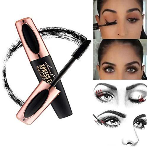 Ardorlove 4D Fiber Lash Mascara,Heavy Full Figure Membrane Force Eyelash to Cream, Premium Formula with Highest Quality Natural & Non-Toxic Hypoallergenic Ingredients