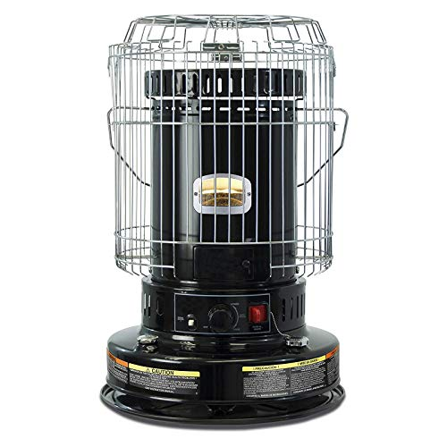 23,800 BTU Kerosene Convection Heater, Indoor Kerosene Space Heaters for Home Camping