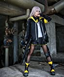 Ipara コスプレアニメ 少女前線 星の繭UMP45cos コスチューム星之繭 ump45cos武士 制服 衣装 サイズ選択可 変装 … (ブラック, S)