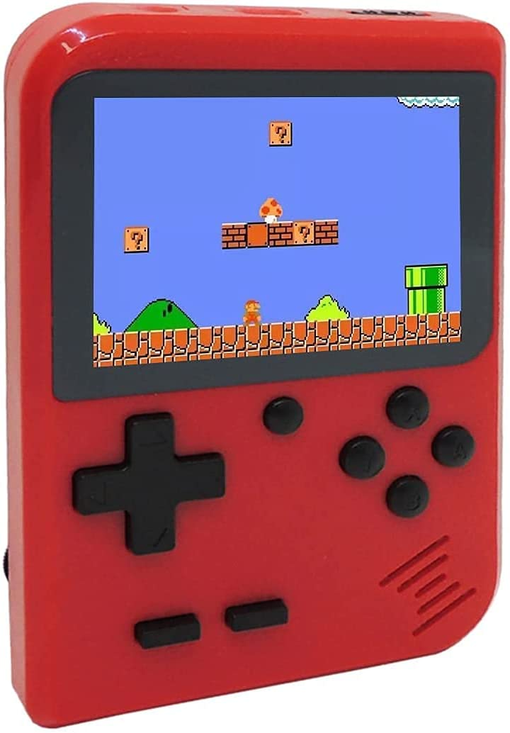 RFiotasy Kids Mini Handheld Games Washington Mall 8 Console Built-in 5% OFF Classic 400