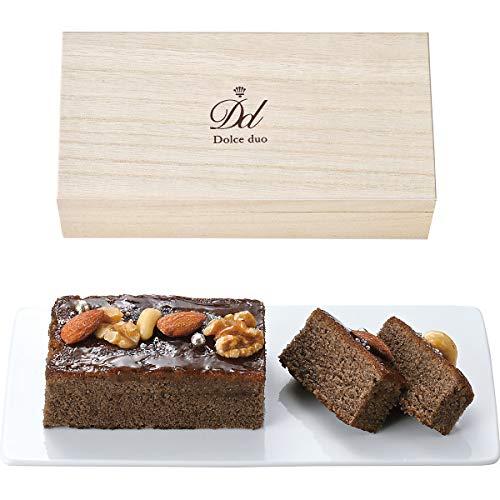 ショコラとナッツのパウンドケーキ(木箱入)
