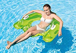 """professional INTEX SIT N Float Lounge Inflatable, 60 """"x 39"""" (colors may vary) (2 pcs)"""