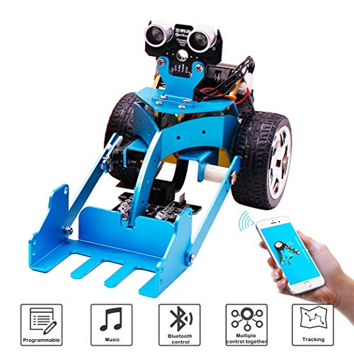 DIY Smart Robot Car Kit BBC graphical Programmable to STEM Toys for Kids and Adults Adults Toys