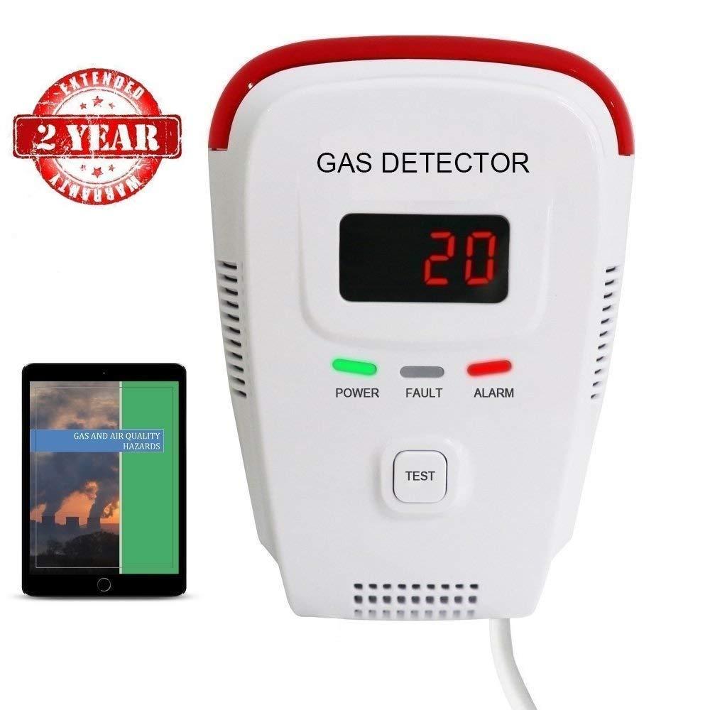 Propane Natural Detector Monitor Combustible
