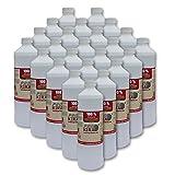 24x 1 Liter flüssiges Bioethanol 100% aus Alkohol für Gel