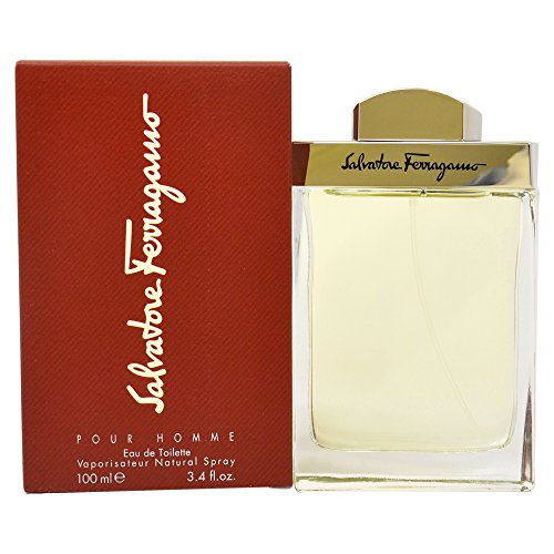 Salvatore Ferragamo de Salvatore Ferragamo para hombre. Eau de Toilette Spray 3.4 onzas, Edt Spray, 100ml